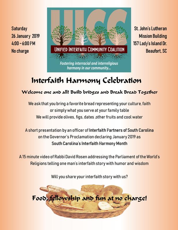 UICC's Interfaith Harmony Celebration - Interfaith Advocate
